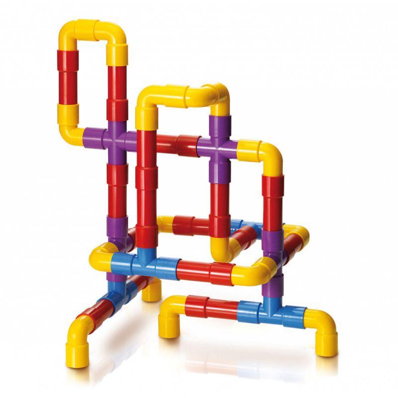 Zestaw rur konstrukcyjnych - Tubation 40 elementów