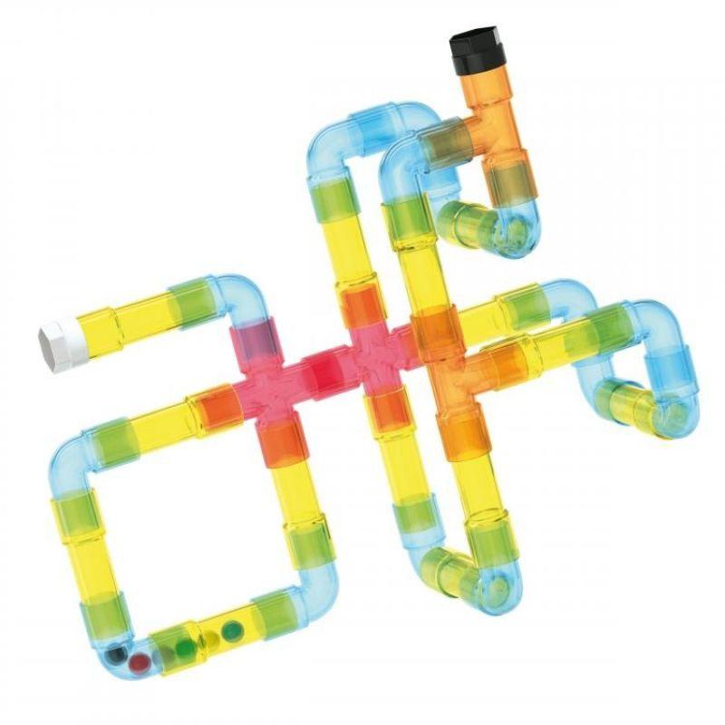 Zestaw rur konstrukcyjnych - Tubation Transparentny