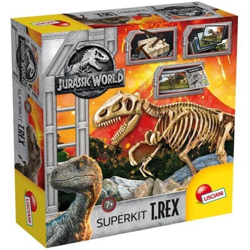 Jurassic World Szkielet Dinozaura T-Rex