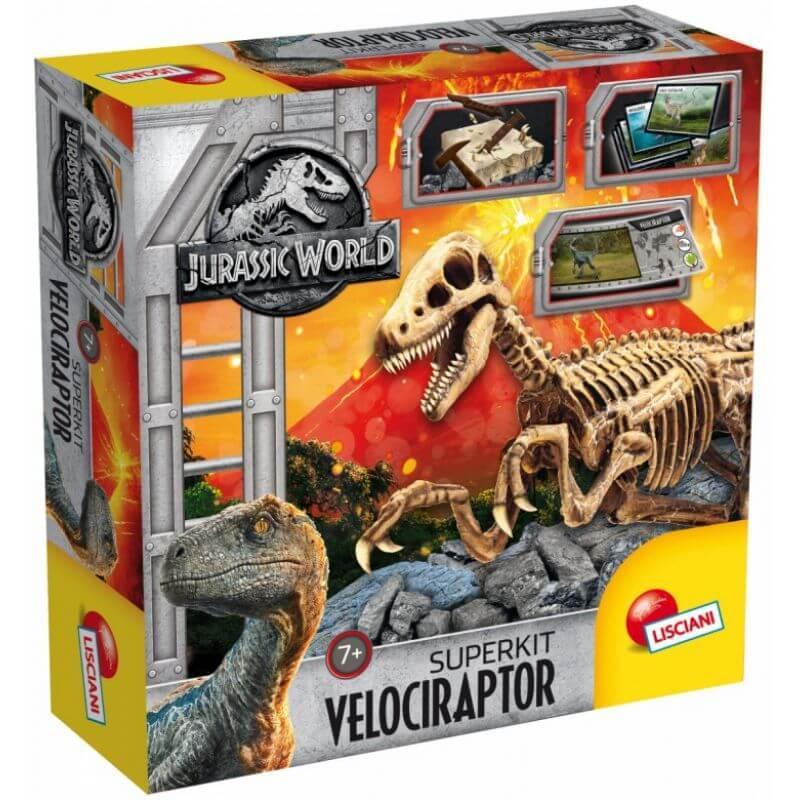 Jurassic World Szkielet Velociraptor