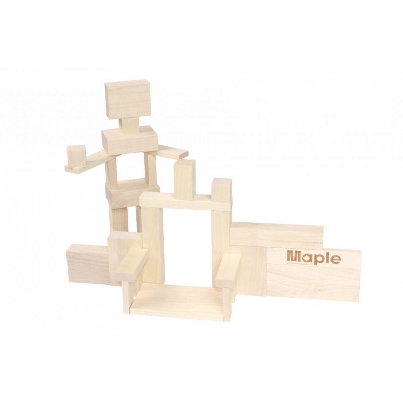 Drewniane klocki klonowe Maple Mix 220