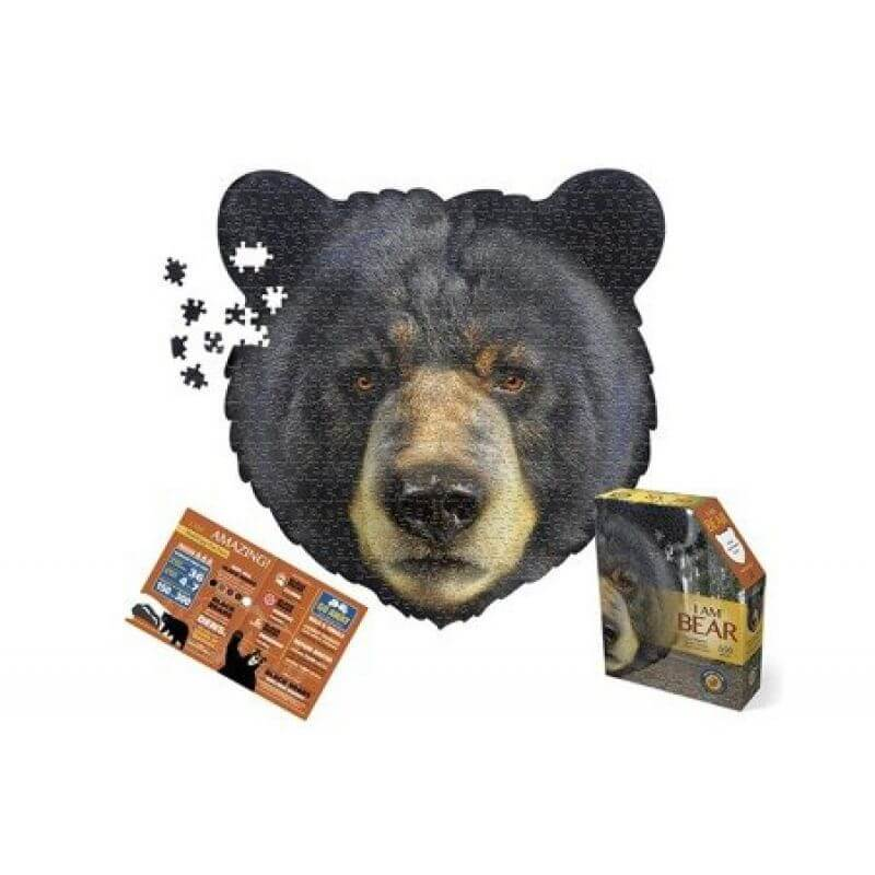 Puzzle I AM BEAR - Niedźwiedź