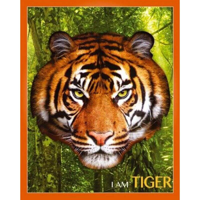 Puzzle I AM - TIGER - Tygrys