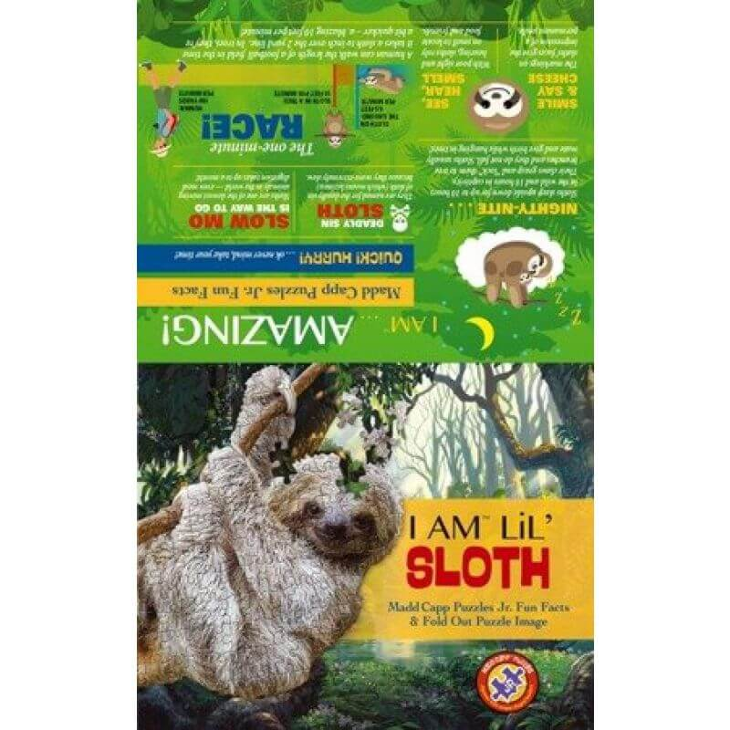 Puzzle I AM LIL' - SLOTH - Leniwiec
