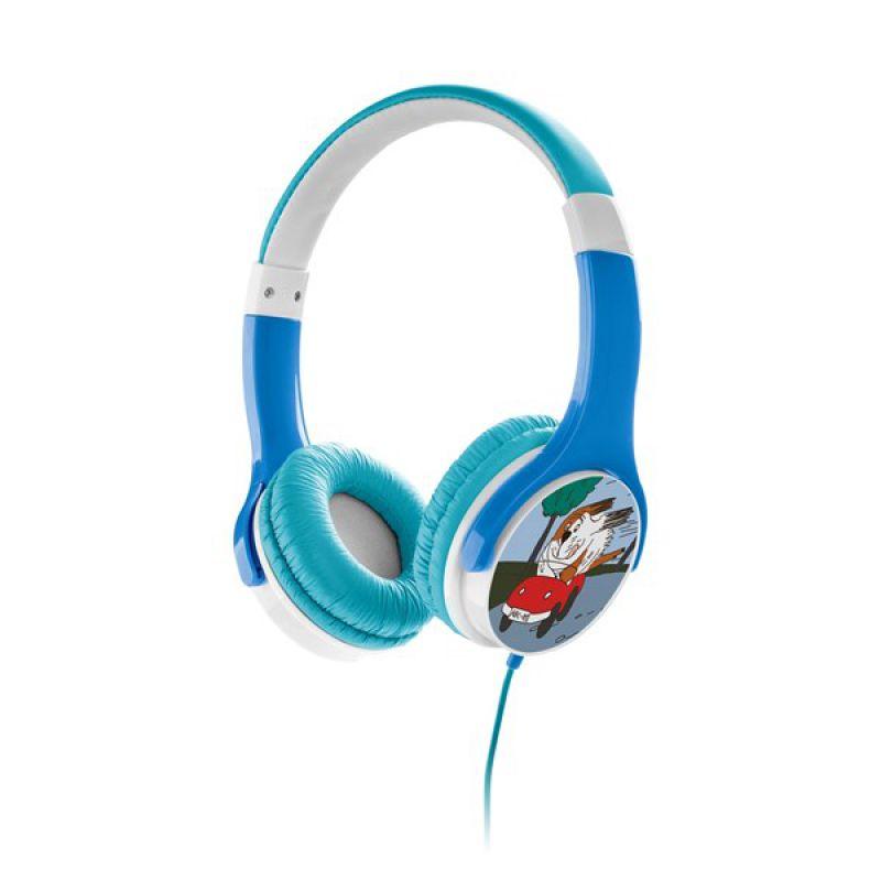 Słuchawki niebieskie Gogen Maxipes Fik