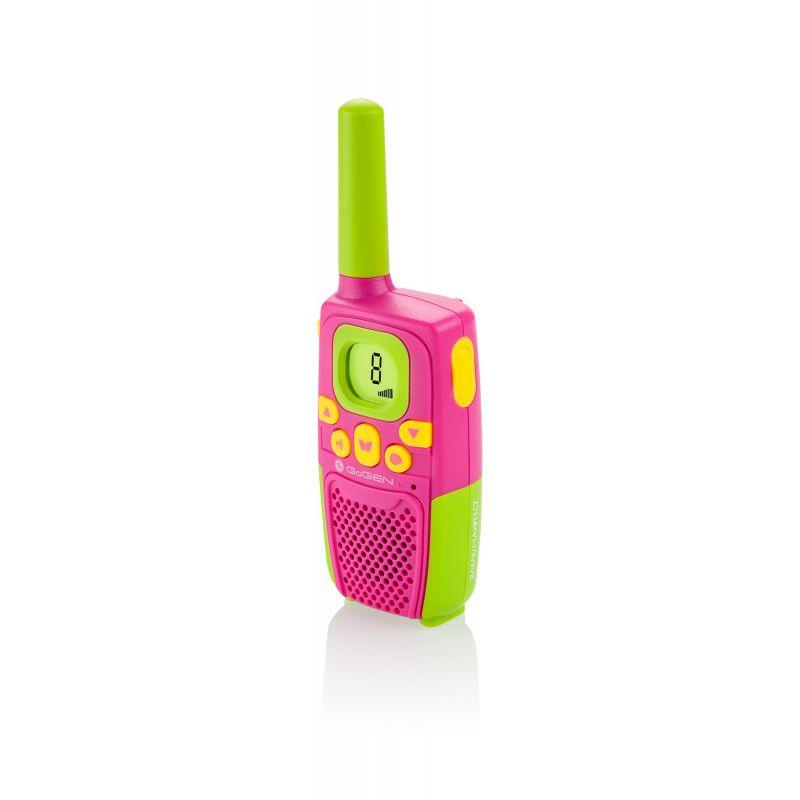 Krótkofalówki dla dzieci Gogen Maxipes Fik - zielono-różowe