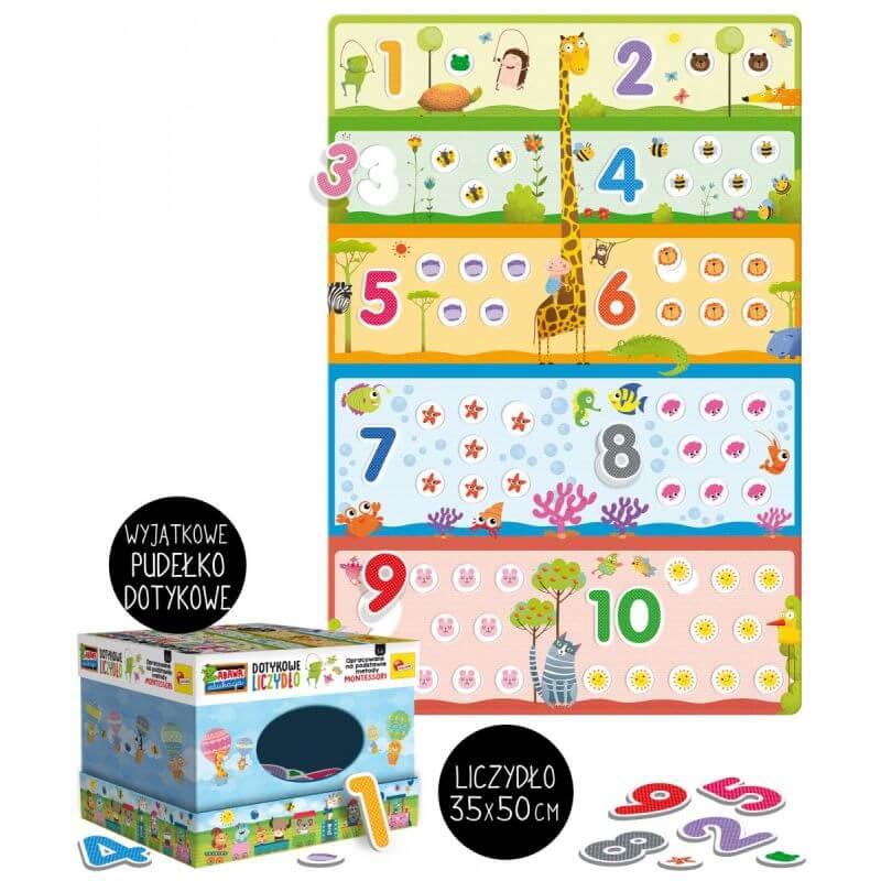 Montessori Plus - dotykowe liczydełko