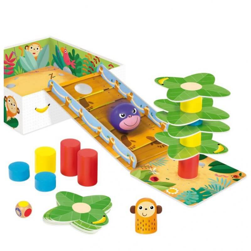 Gra edukacyjna kooperacyjna Go Gorilla !