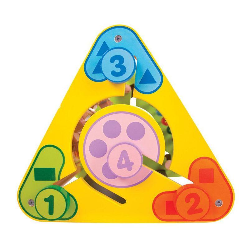 Trójkątne centrum interaktywne dla dzieci