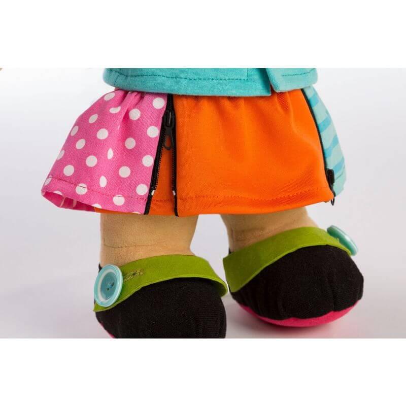 Lalka sensoryczna Miniland - dziewczynka azjatka