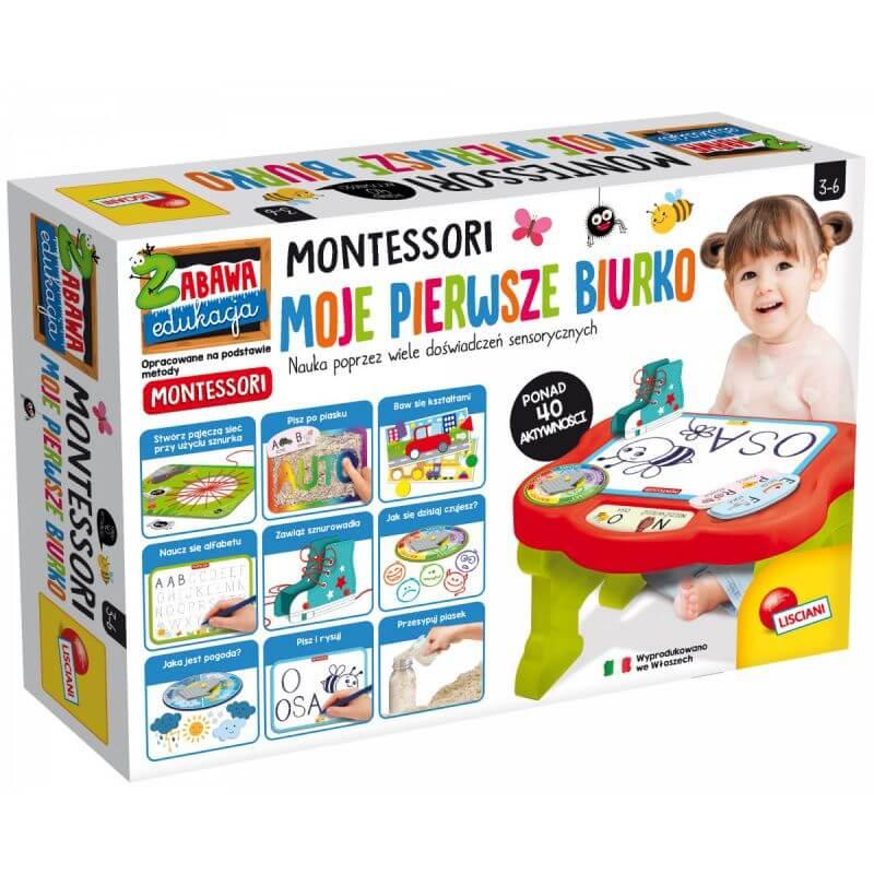 Montessori - Moje Pierwsze Biurko