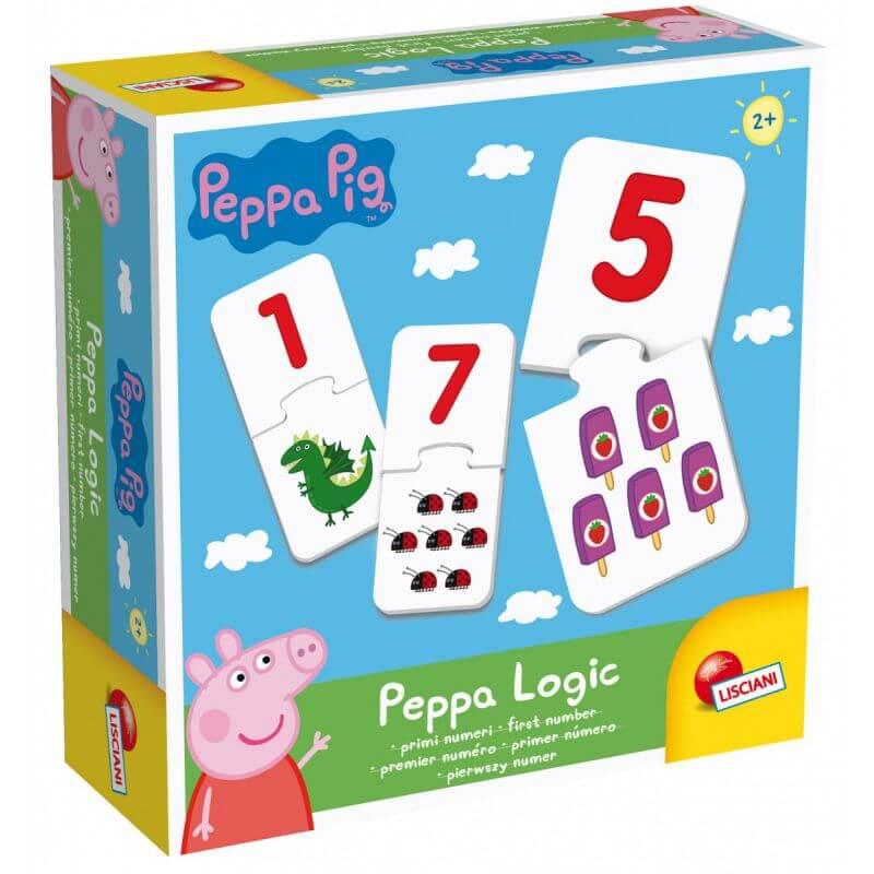 Puzzle - gry logiczne Świnka Peppa