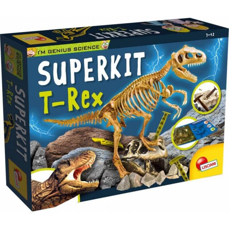 Mały Geniusz - Szkielet T-Rex - super zestaw geologa