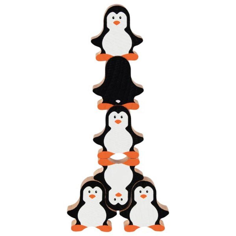 Gra balansująca - pingwiny