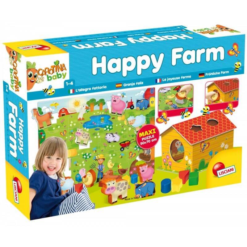 Carotina Szczęśliwa Farma - puzzle
