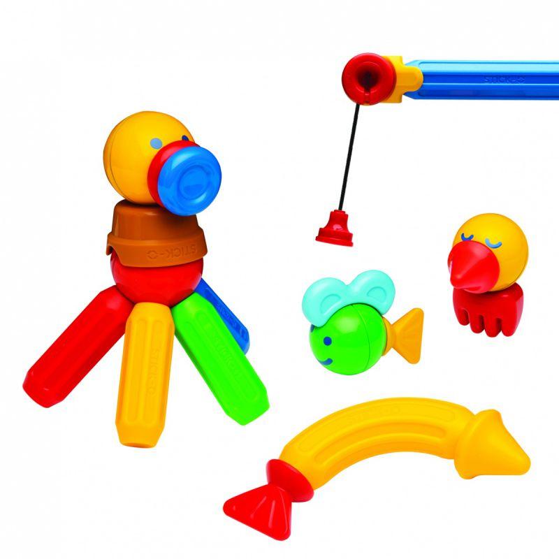 Klocki magnetyczne MagFormers Stick-O Zestaw Wędkarski 26 elementów