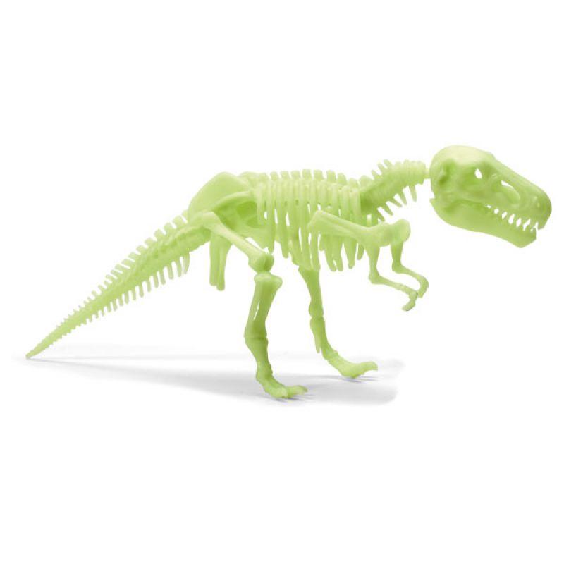 Dinozaur T-Rex świecący w ciemności