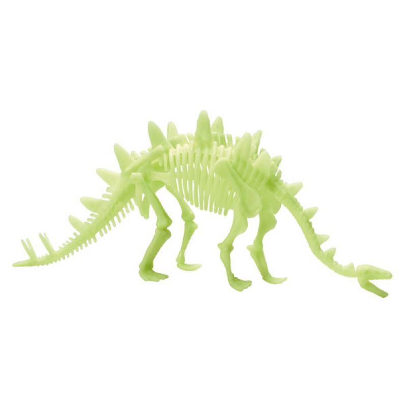 Dinozaur Stegozaur świecący w ciemności