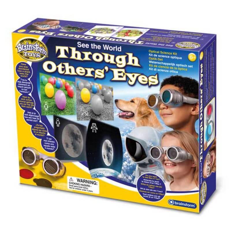 Zobacz świat oczyma zwierząt - magiczne okulary