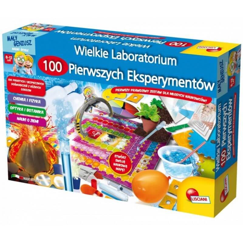 Laboratorium 100 pierwszych eksperymentów