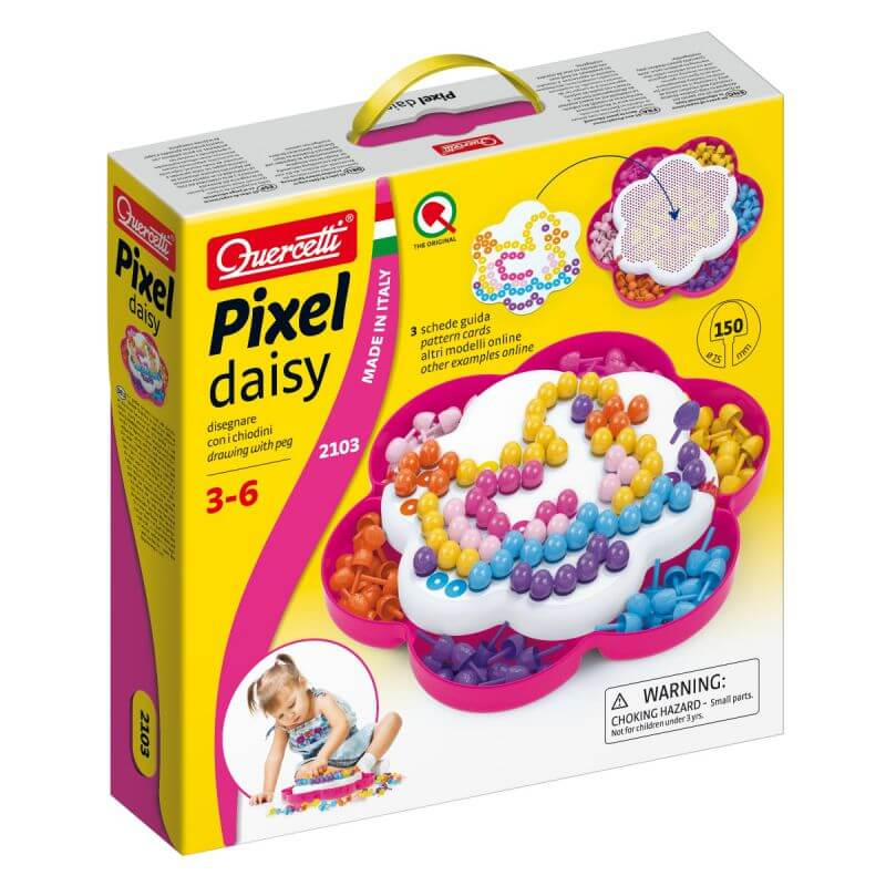 Mozaika Edukacyjna Pixel Daisy Kaczka