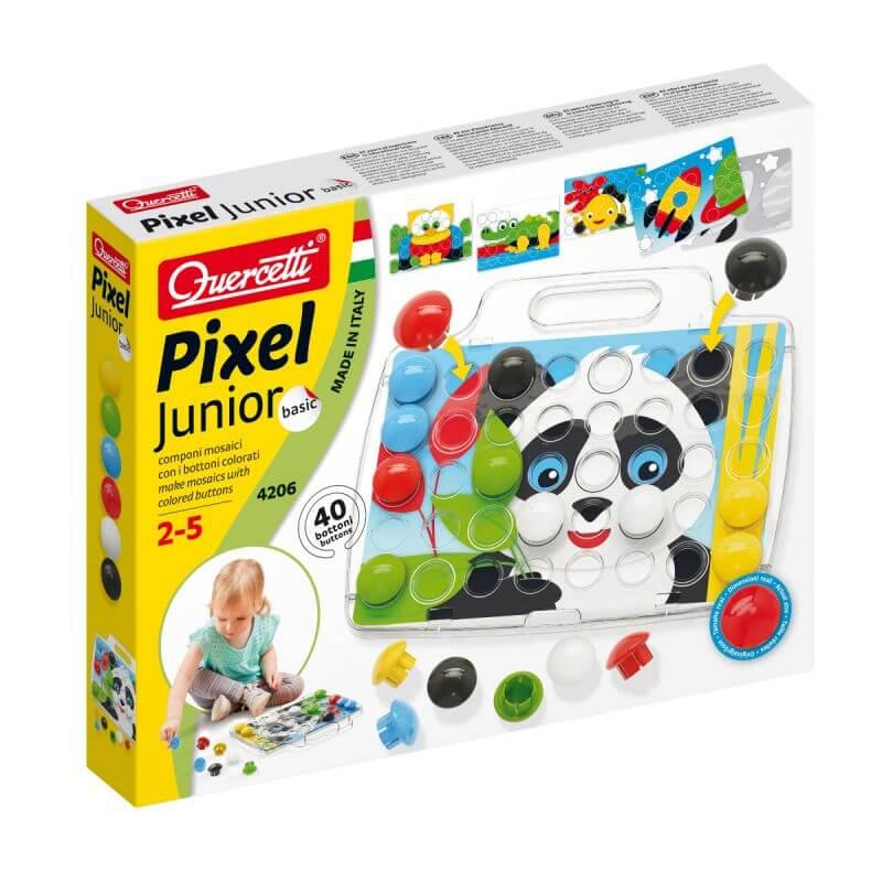 Mozaika Edukacyjna Pixel Junior Basic Panda