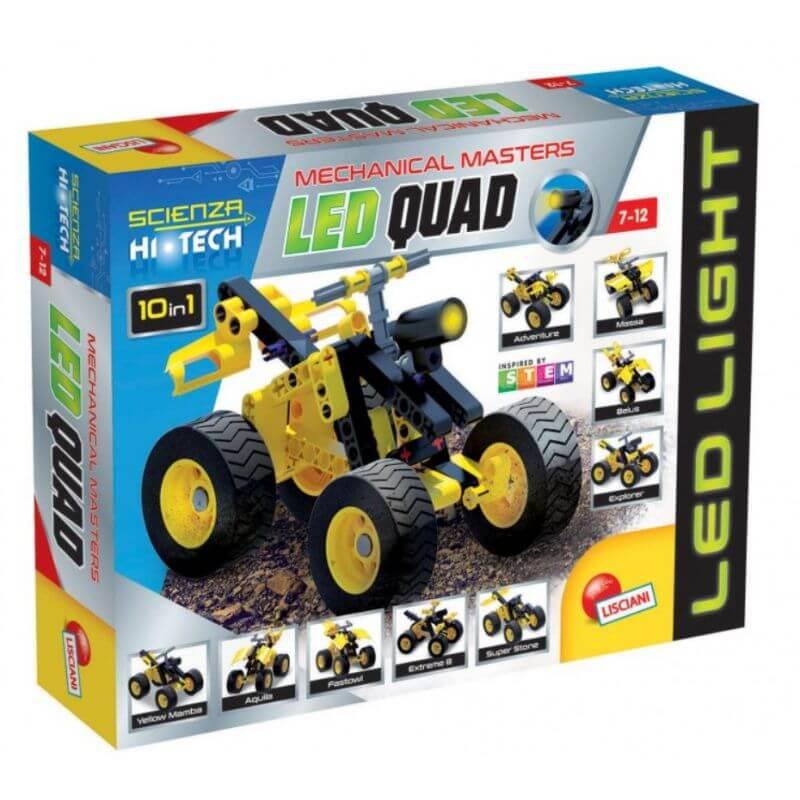 High-Tech Quad - LED - pojazd do składania