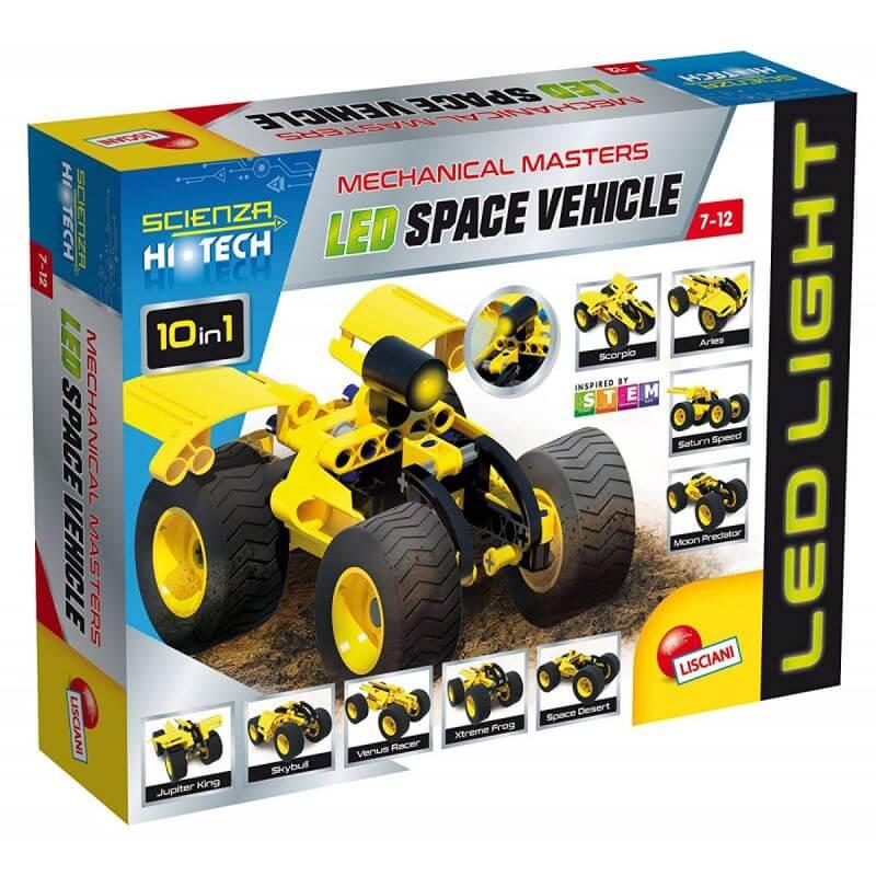 High-Tech Pojazd Kosmiczny - LED - pojazd do składania