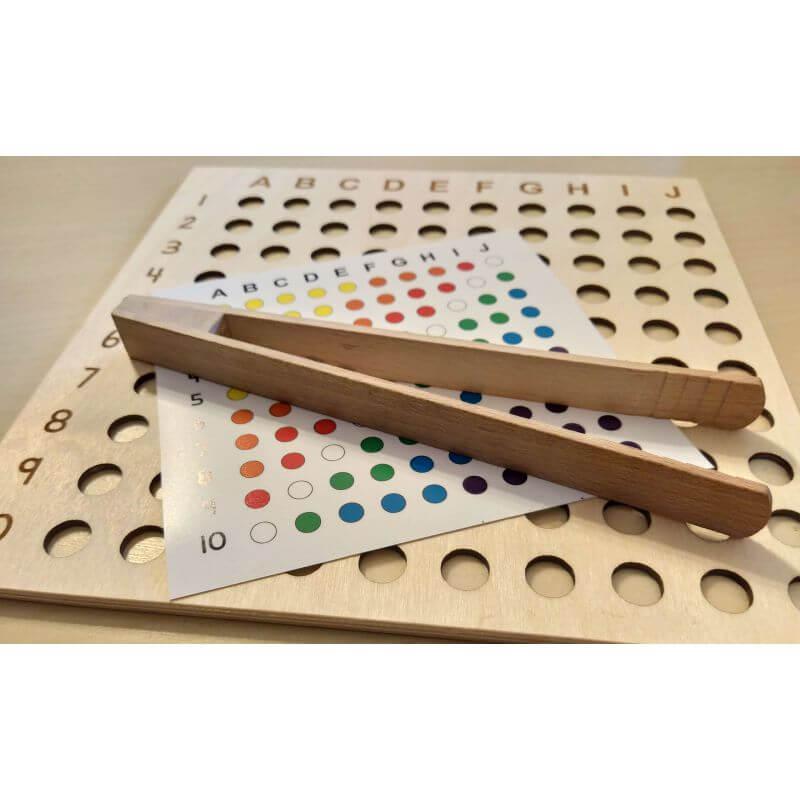 Kuleczkowa - zabawka edukacyjna dla dzieci