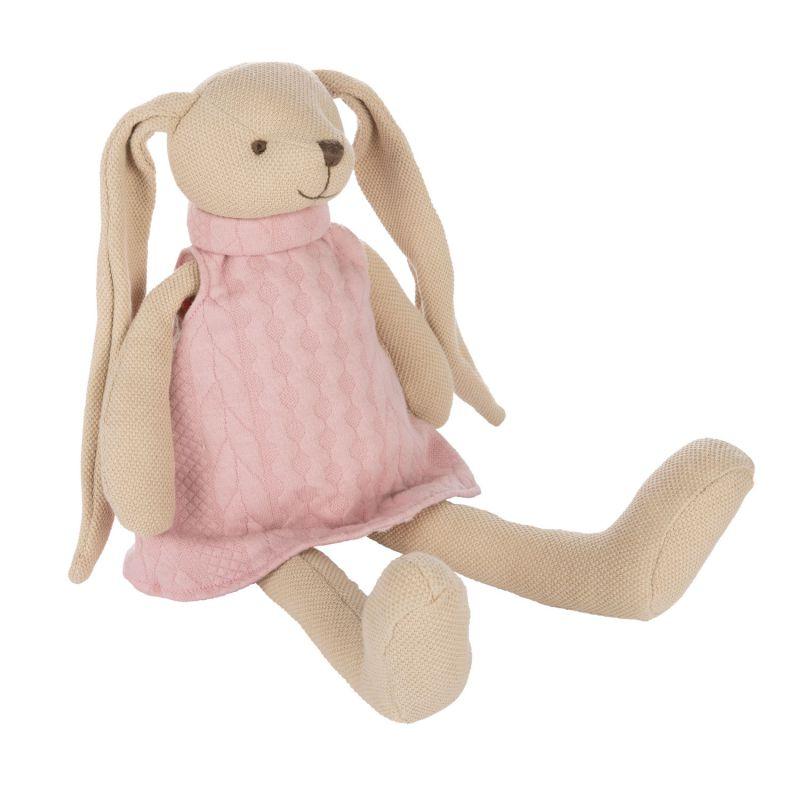 Miękka przytulanka Króliczek Canpol Babies - różowy
