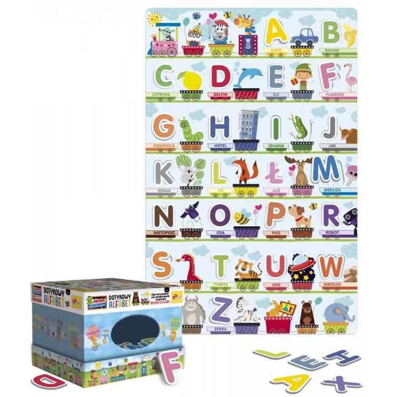 Montessori Plus - Dotykowy Alfabet