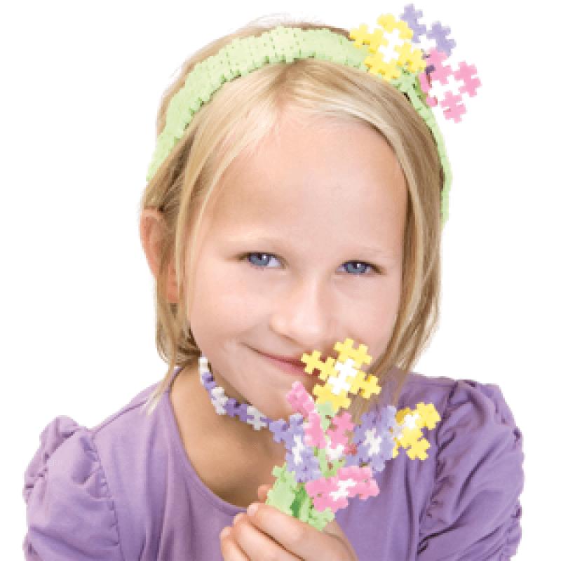 Plus-Plus, Mini Pastel - 3600 szt - Edukacja