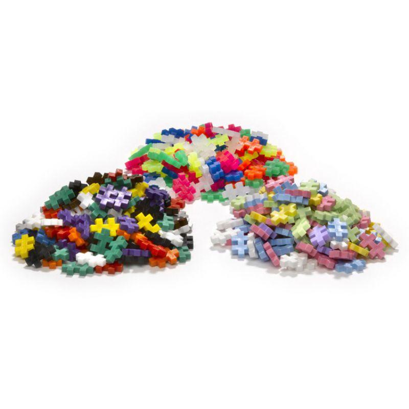 Plus-Plus, Mini Mix ( Basic, Neon, Pastel) - 6000 szt - Edukacja