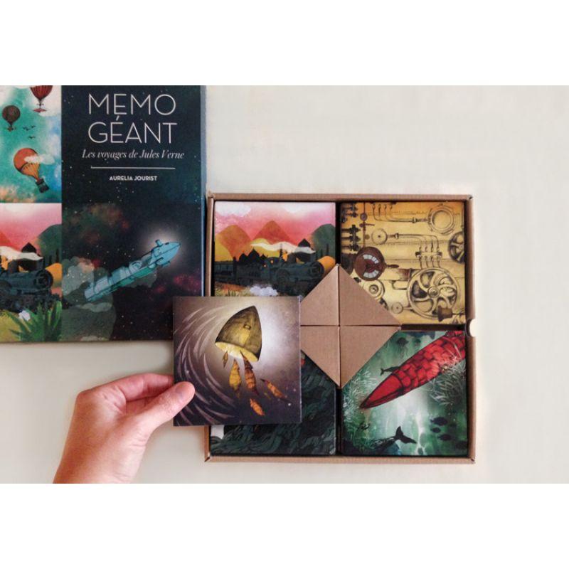 Memo geant 'Les voyages de Jules Verne'