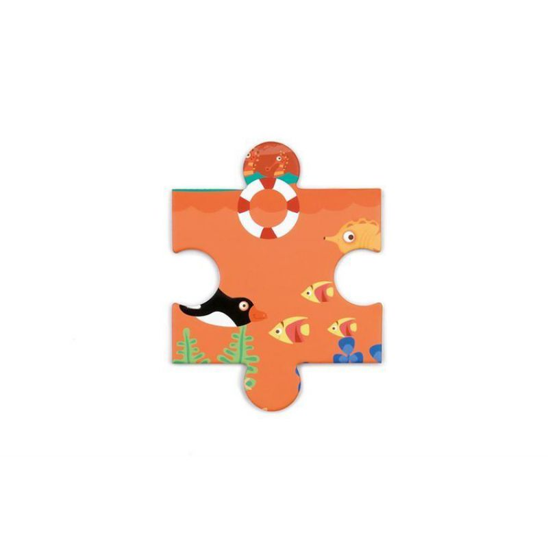 Scratch, Puzzle konturowe Pelikan 24 elem.