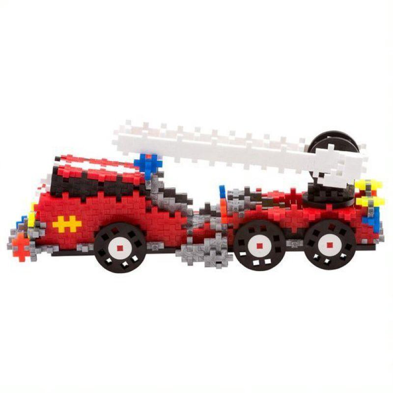 Plus-Plus GO! , Mini Mix 500 szt. Wóz strażacki