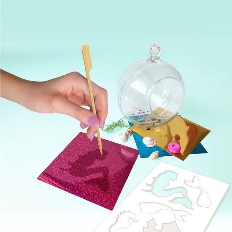 Box Candiy, zestaw kreatywny Terrarium Syrenka