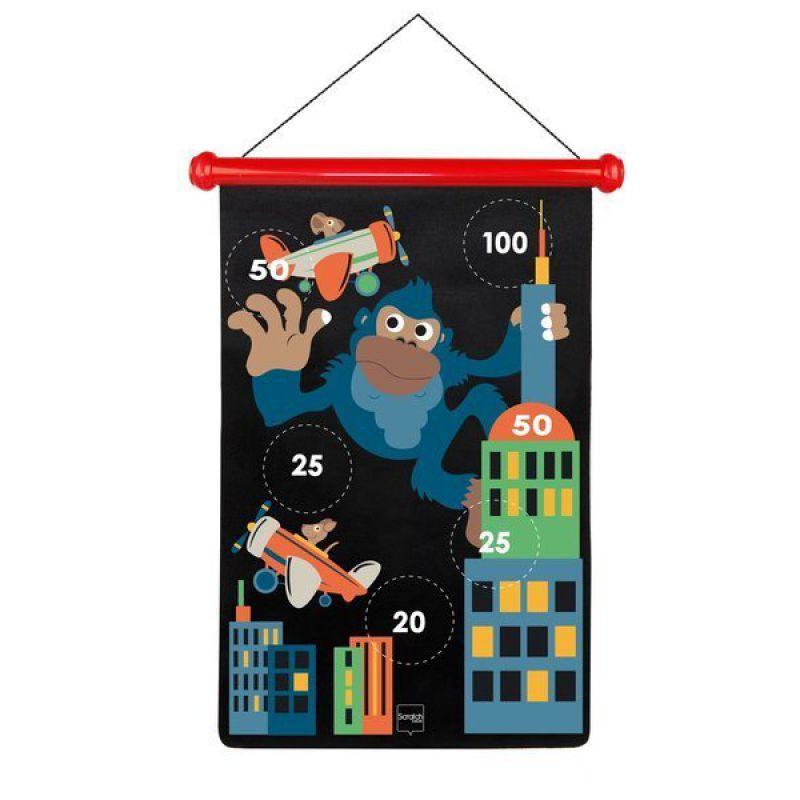 Scratch, Rzutki magnetyczne Małpka w mieście, rozmiar L