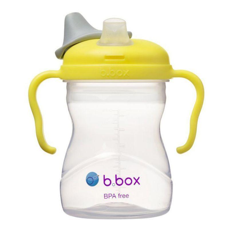Kubek 4w1 zestaw 240 ml, cytrynowy, b.box